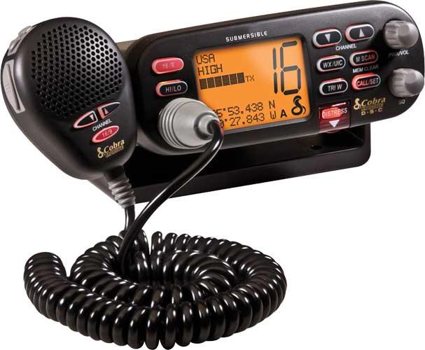 CLASS D 25WATT SUBMERSIBLE VHF RADIO W/NOAA,DSC