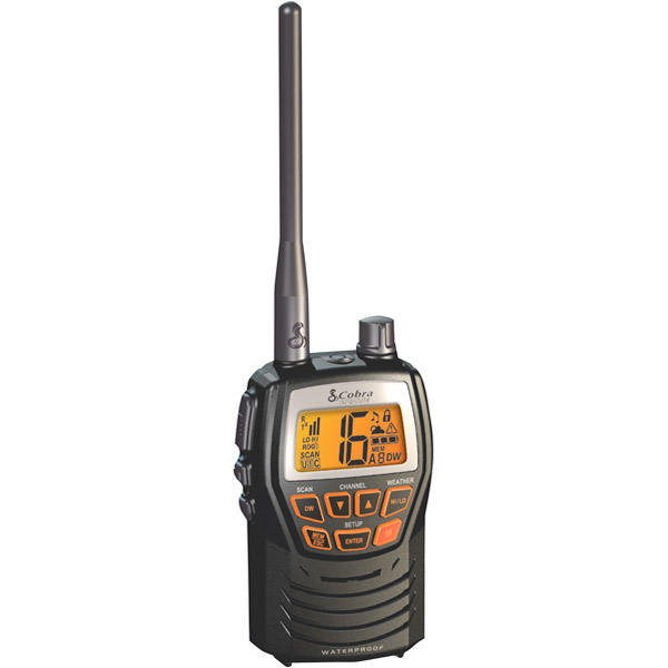 MARINE,1/3 WATT,WX,SCAN,CHARGE JACK,VHF