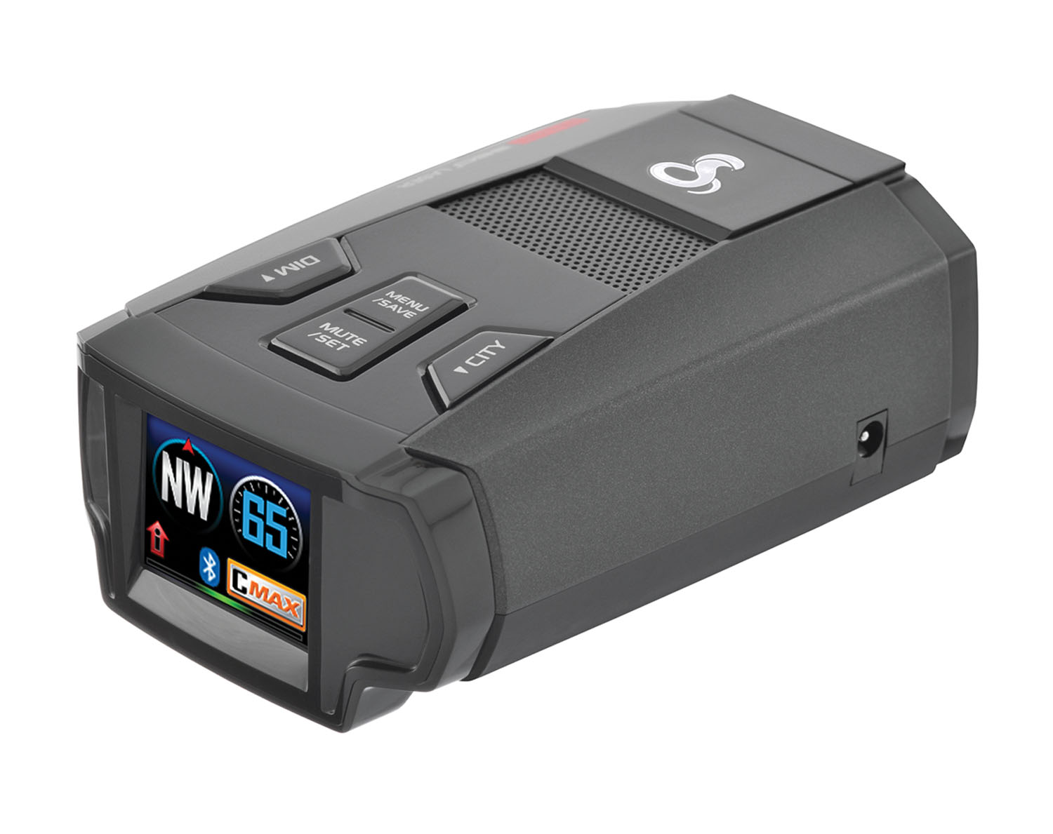 "COBRA - ULTRA-HIGH PERFORMANCE RADAR/LASER DETECTOR WITH BLUETOOTH iRADAR COMMUNITY-BASED DETECTION, 1.25"" FULL COLOR LED DISPLA"