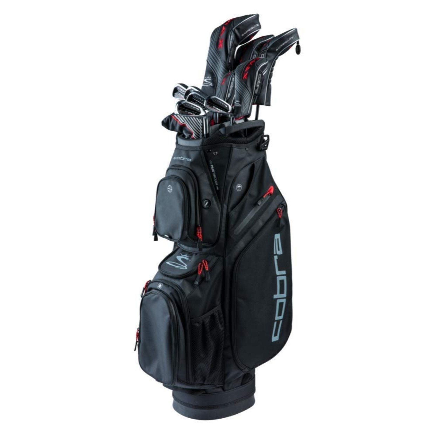 Cobra Golf Men's 2019 F-Max Superlite Complete Set Reg RH