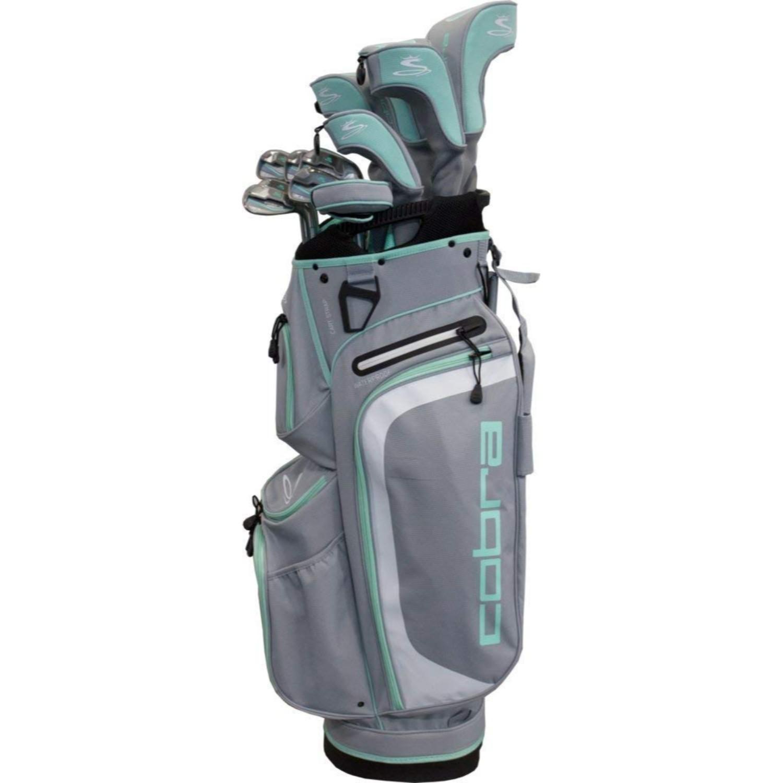 Cobra Golf Women's XL Complete Set Silver-Mint RH