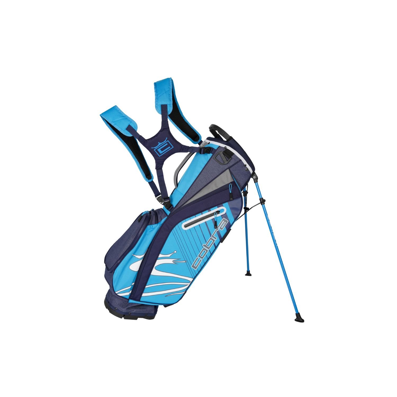 Cobra Golf 2020 Ultralight Stand Bag Peacoat-Ibiza Blue