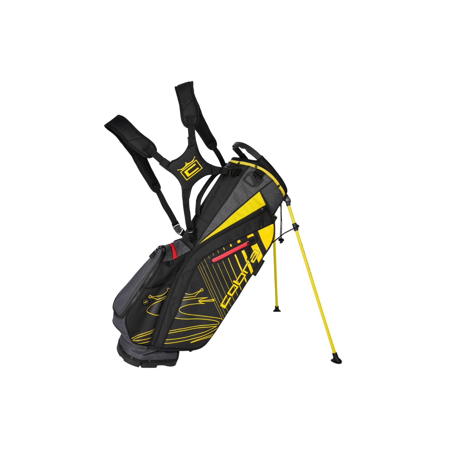 Cobra Golf 2020 Ultralight Stand Bag Black-Yellow