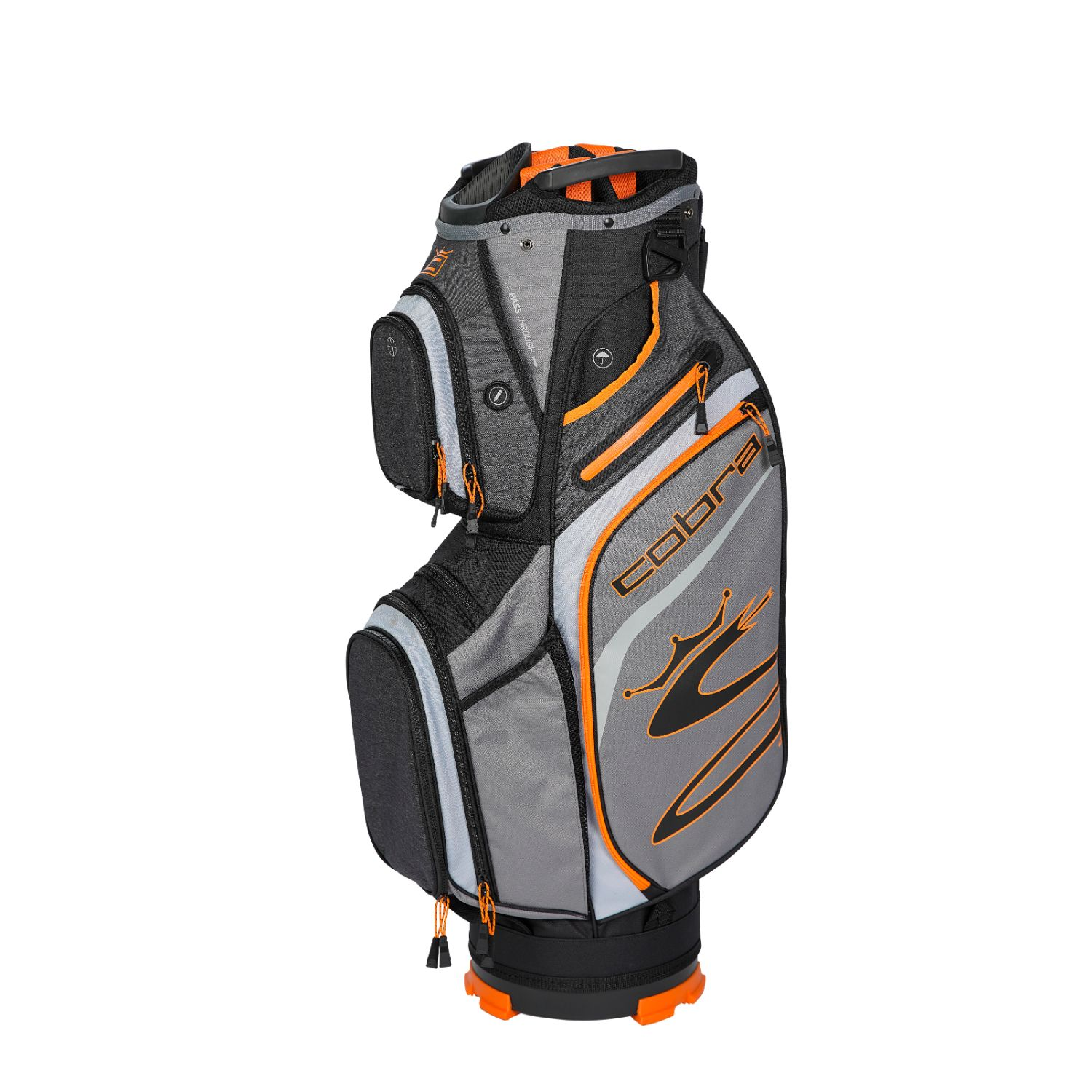 Cobra Golf 2020 Ultralight Cart Bag Quiet Shade-Vibrant Org