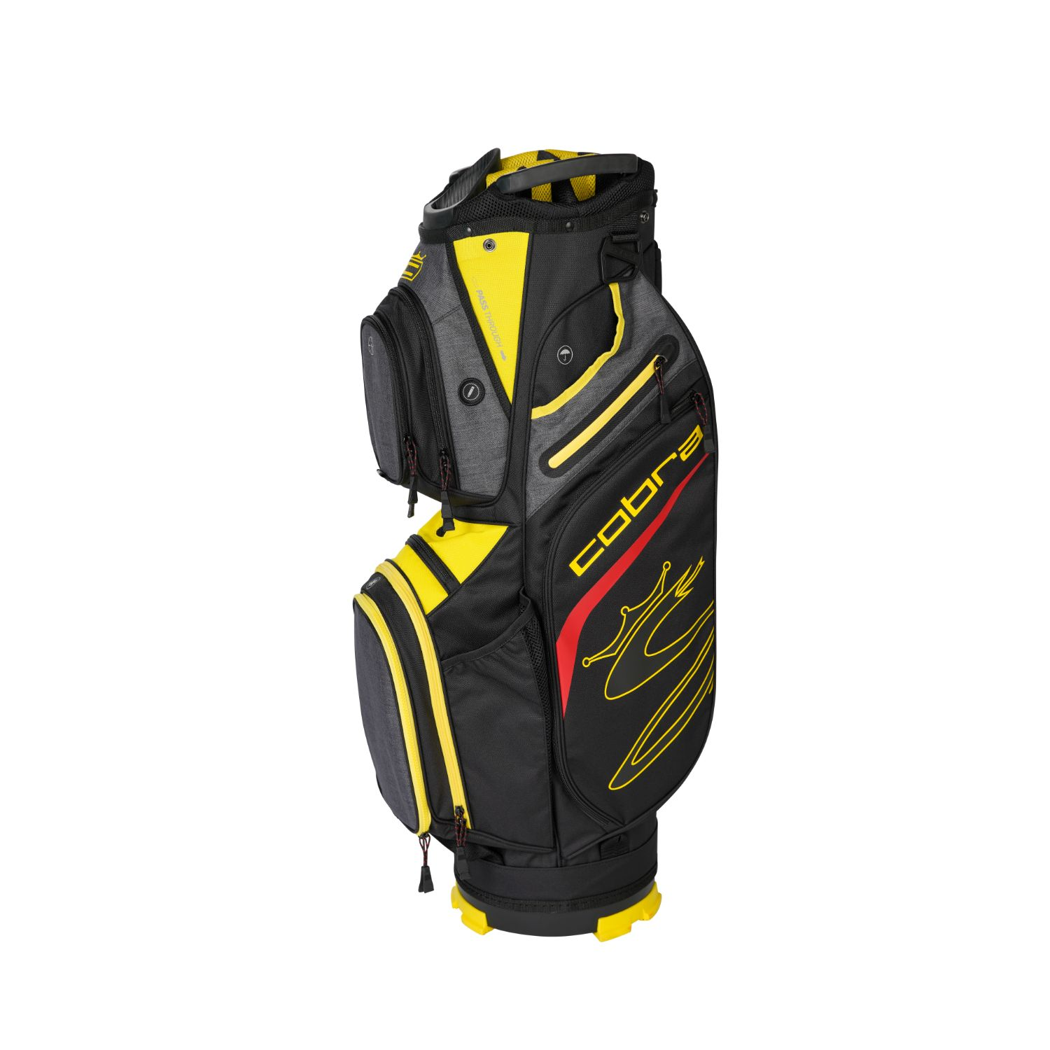 Cobra Golf 2020 Ultralight Cart Bag Black-Yellow