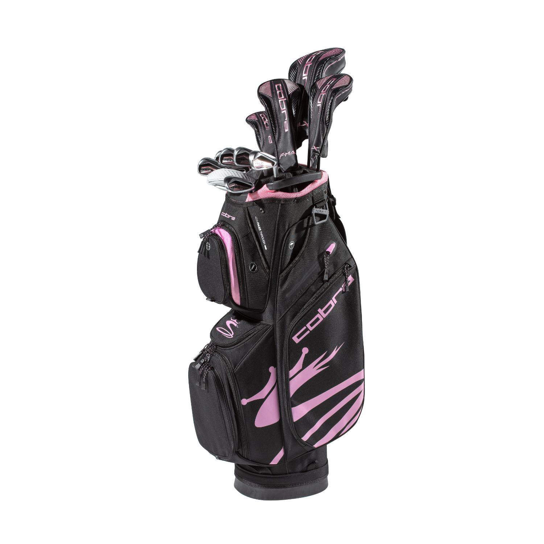 Cobra FMAX Airspeed Ladies Golf Set Graphite Black-Lilac RH