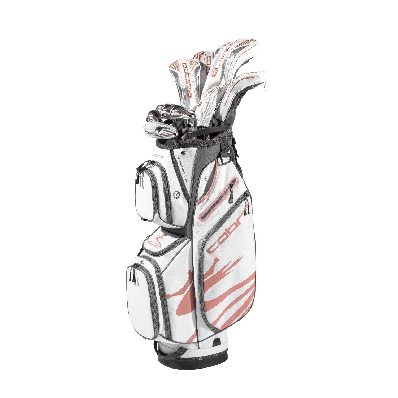Cobra FMAX Airspeed Ladies Golf Set Graphite White-Copper RH