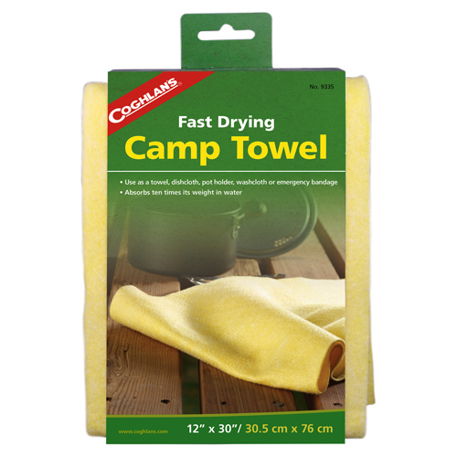 "Camp Towel  30"" x 12"""