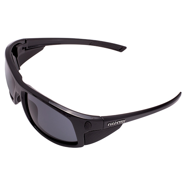 Battle Shades Mark I, Black Gloss Frame, Gray Lens