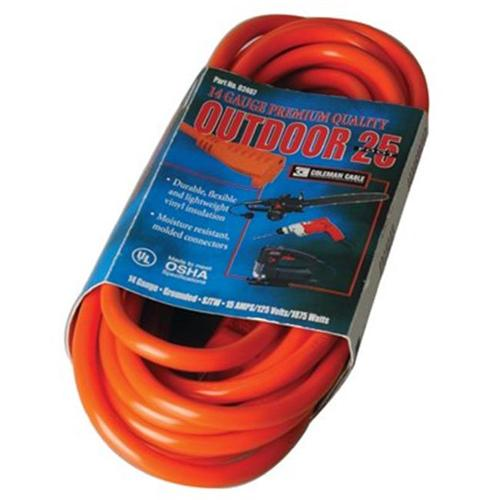14/3 EXTENSION CORD 25FT