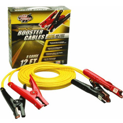 BOOSTER CABLE 12FT 8 GA