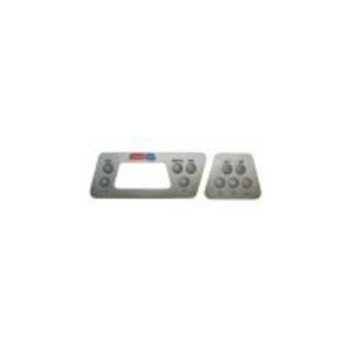 Overlay, Spaside, Coleman (Balboa) 630, 10-Button, Pump1-Pump2-Fiber Optic-Blower