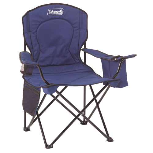 Chair Quad W/cooler Adult Blue