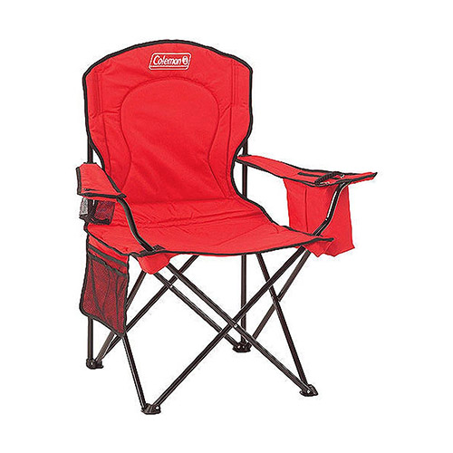 Chair Quad Cooler Red C006