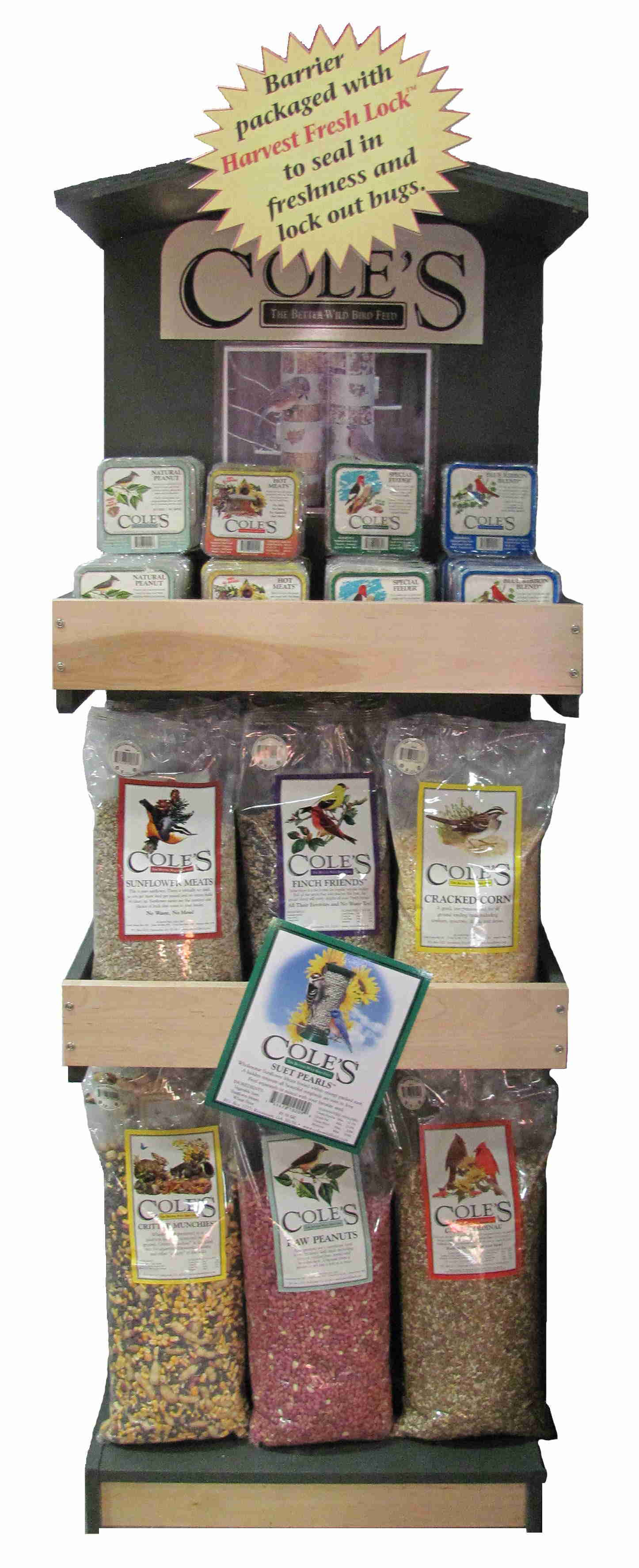 Coles Small Seed Display