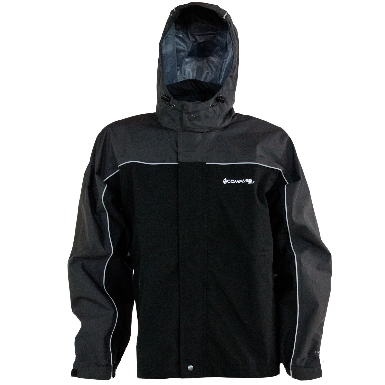 Compass 360 RoadForce Reflective Riding Jacket-Slate/Blk-XL