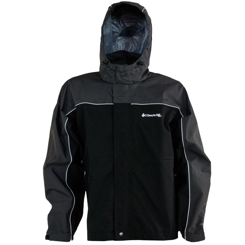 Compass 360 RoadForce Reflective Riding Jacket-Slate/Blk-LG