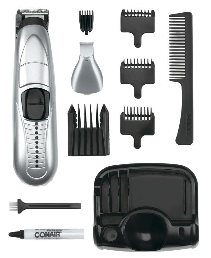 Conair GMT175RCS Battery Operated Beard & Mustache Trimmer