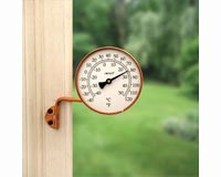 Vermont Dial Thermometer Living Finish Copper