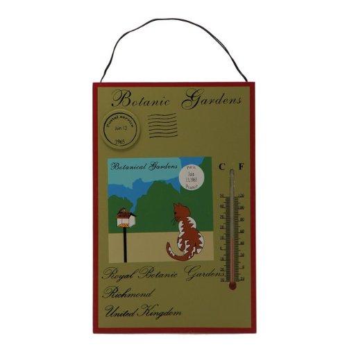 Comfortmeter with Cardinal Bird Dial Bronze Patina Finish