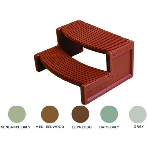 "Steps, Confer, Handi-Step 2, 27""Wide, Espresso"