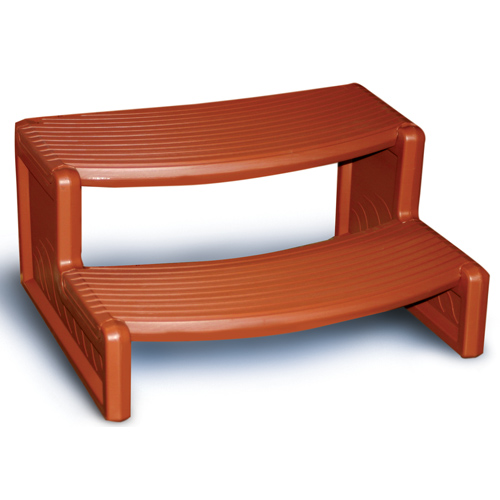 "Steps, Confer, Handi-Step 2, 27""Wide, Redwood"