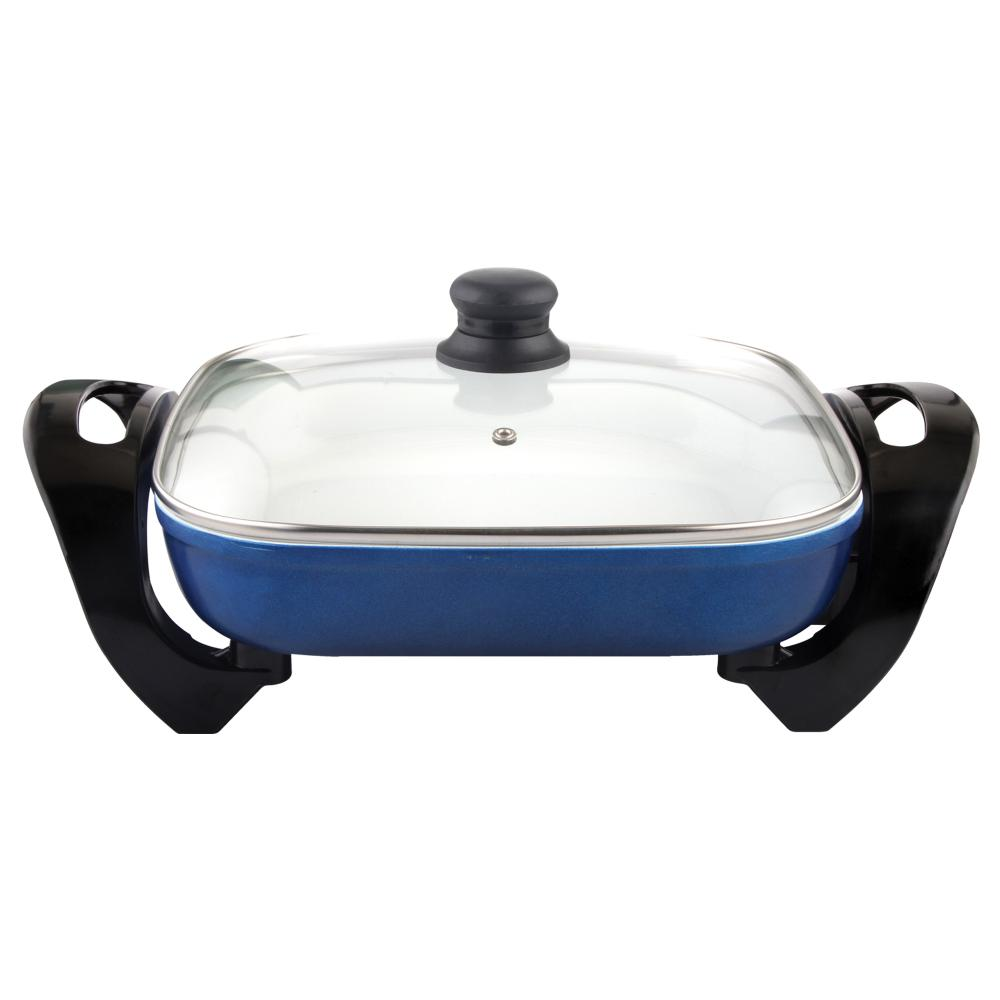 Cookinex 12 Inch Electric Skillet, Blue