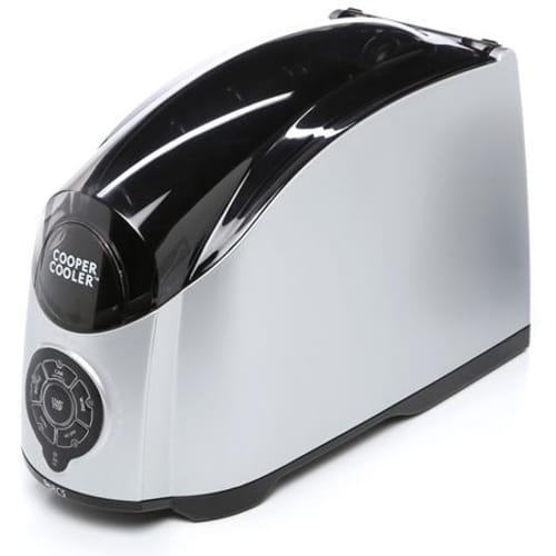 Cooper Cooler Tailgater Rapid Beverage Chiller - Silver Body Color / Black Accents