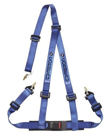 2 inch Lap and 3-Point Harness Belt