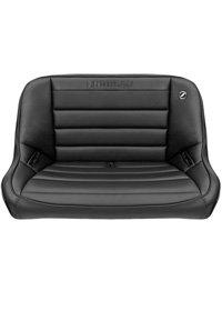 Baja Rear Bench Seat in Black Vinyl