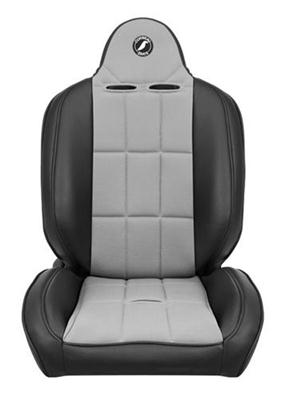 Baja RS Seat in Black Vinyl/ Grey Cloth