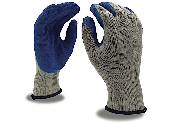 BLUE CRINKLE LATEX COATED PALM- XL (DZ)