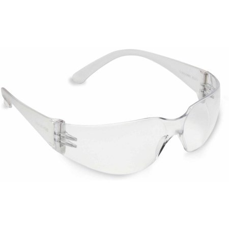 (SOLD PER BOX) BULLDOG FROSTED CLEAR FRAME, CLEAR LENS - 10 BOXES/CS - 12 PER BOX