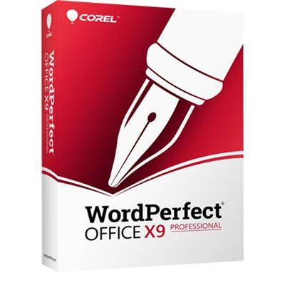 WordPerfect OfficeX9Pro Upgrad