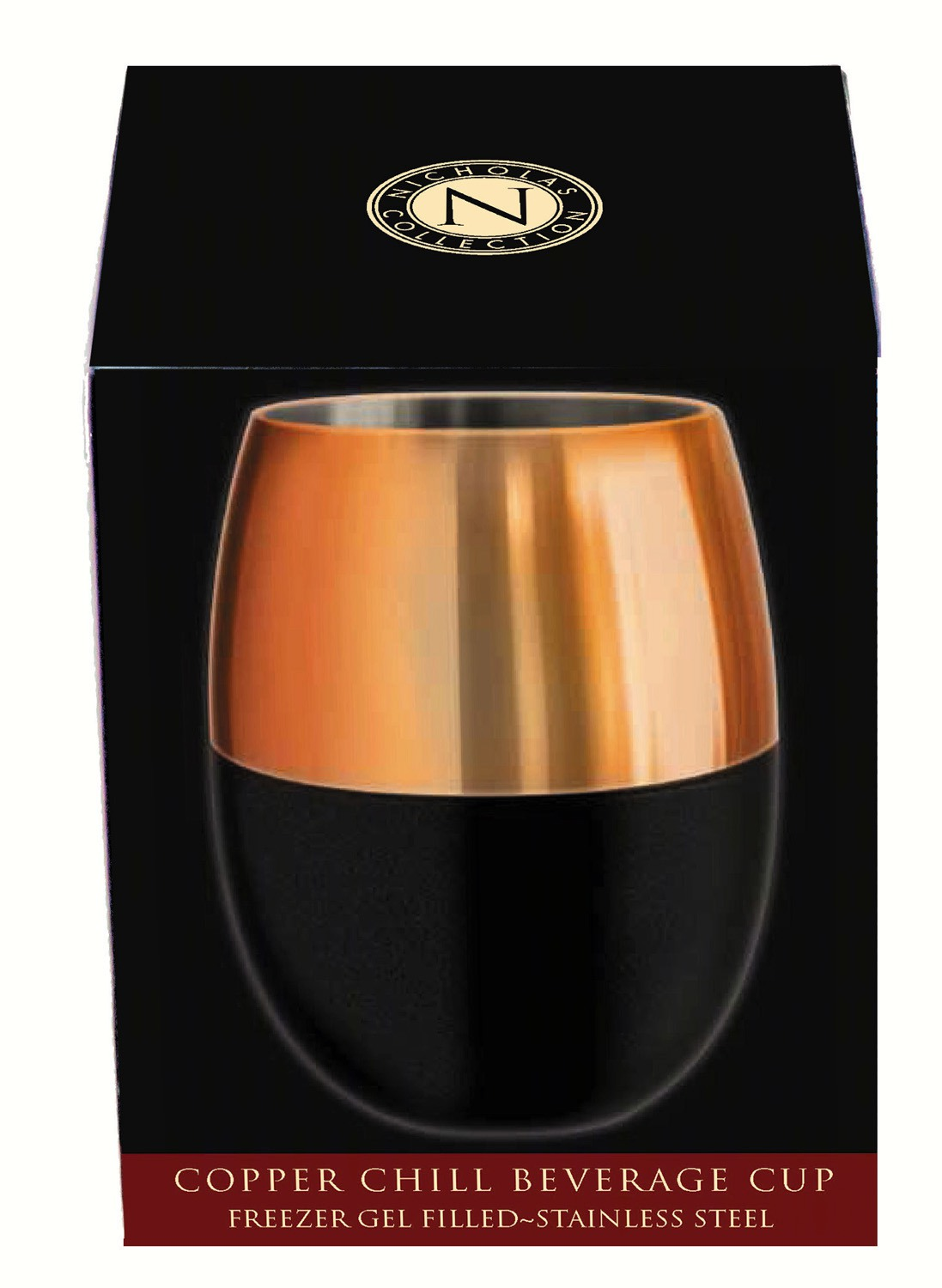 Nicholas Copper Gel Beverage Cup