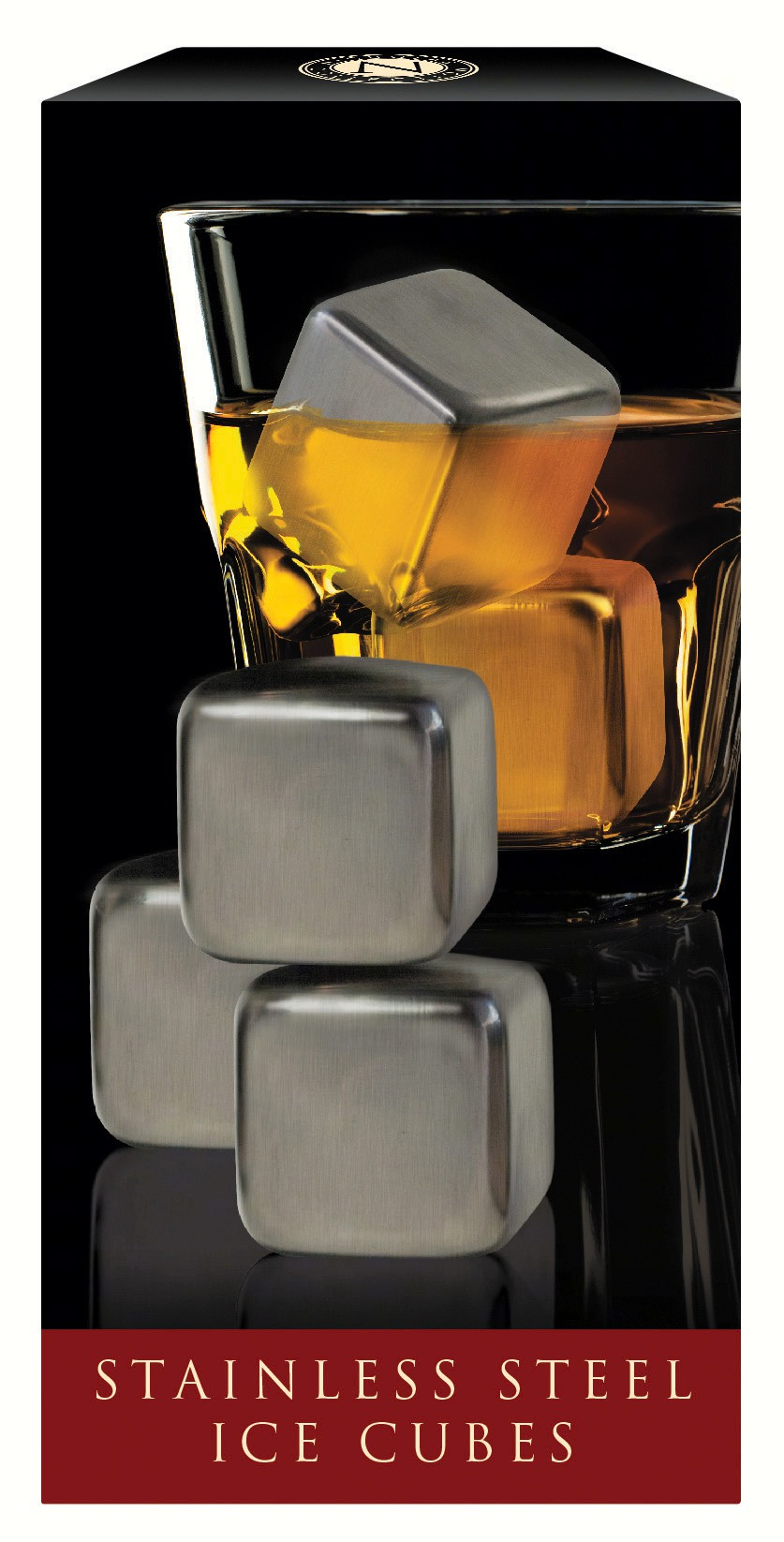 Nicholas, Stainless Steel Ice Cubes