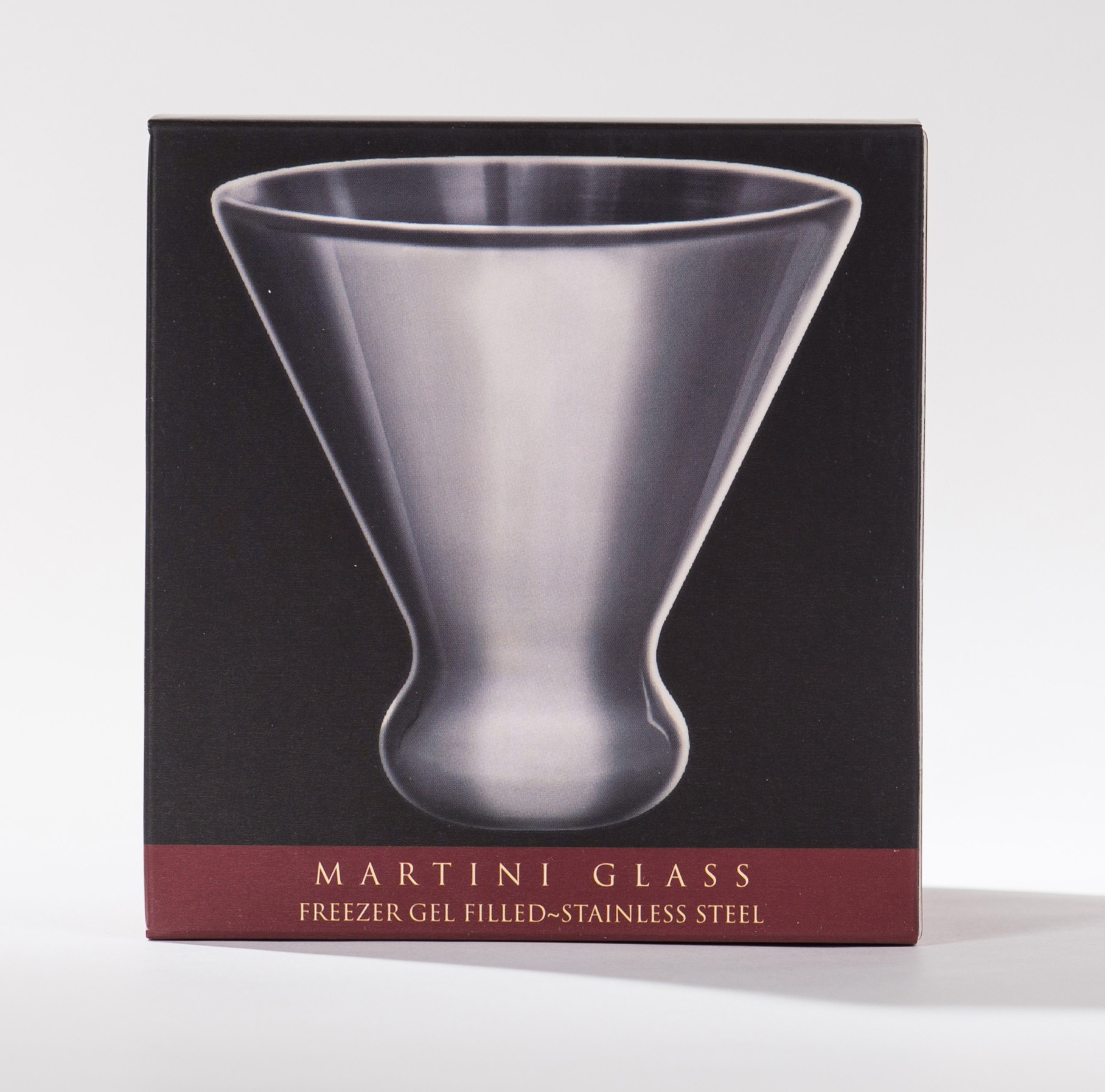 Nicholas, Stainless Steel Martini Glass