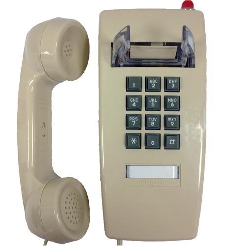 255444V0E27MD Wall Phone w/MSG Light