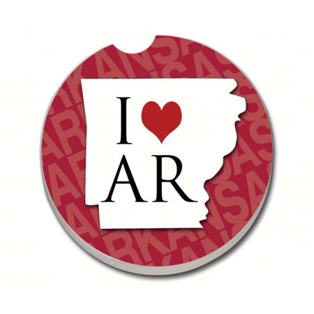 Arkansas State Love Car Coaster