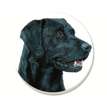 Black Lab Coasters Set of 4