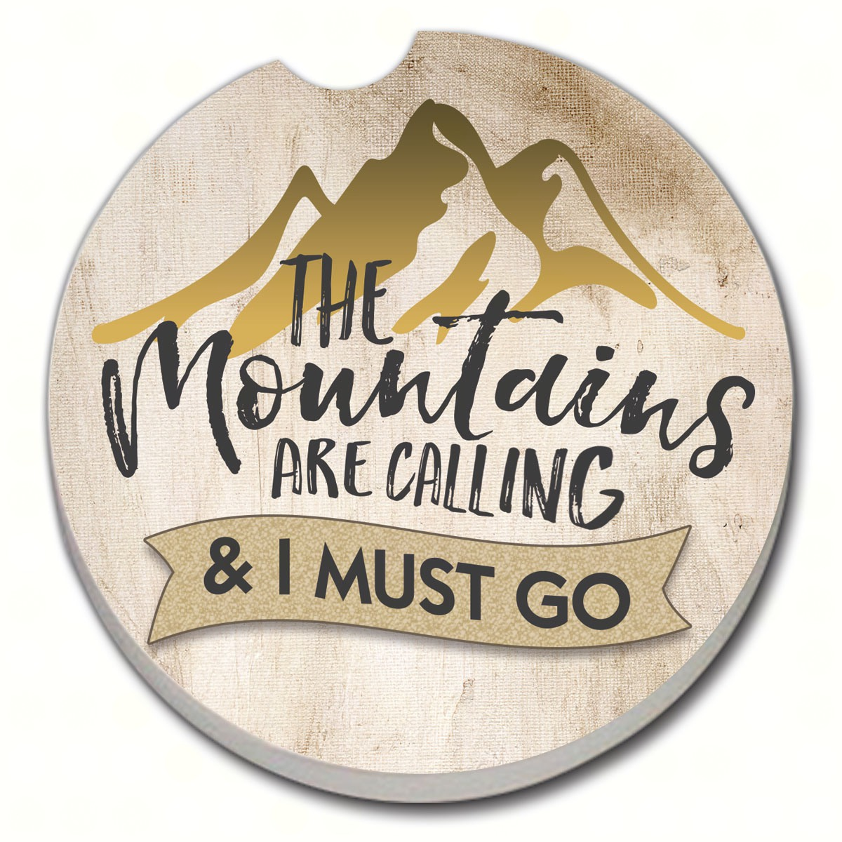 The Mountains are Calling Car Coaster