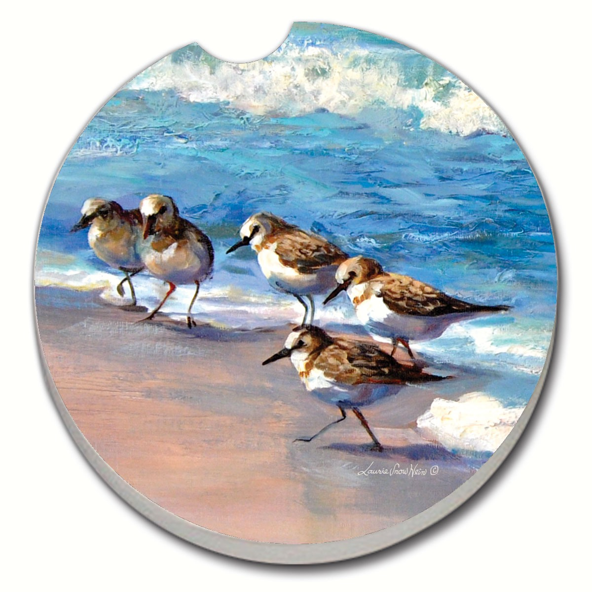 Sandpipers Car Coaster