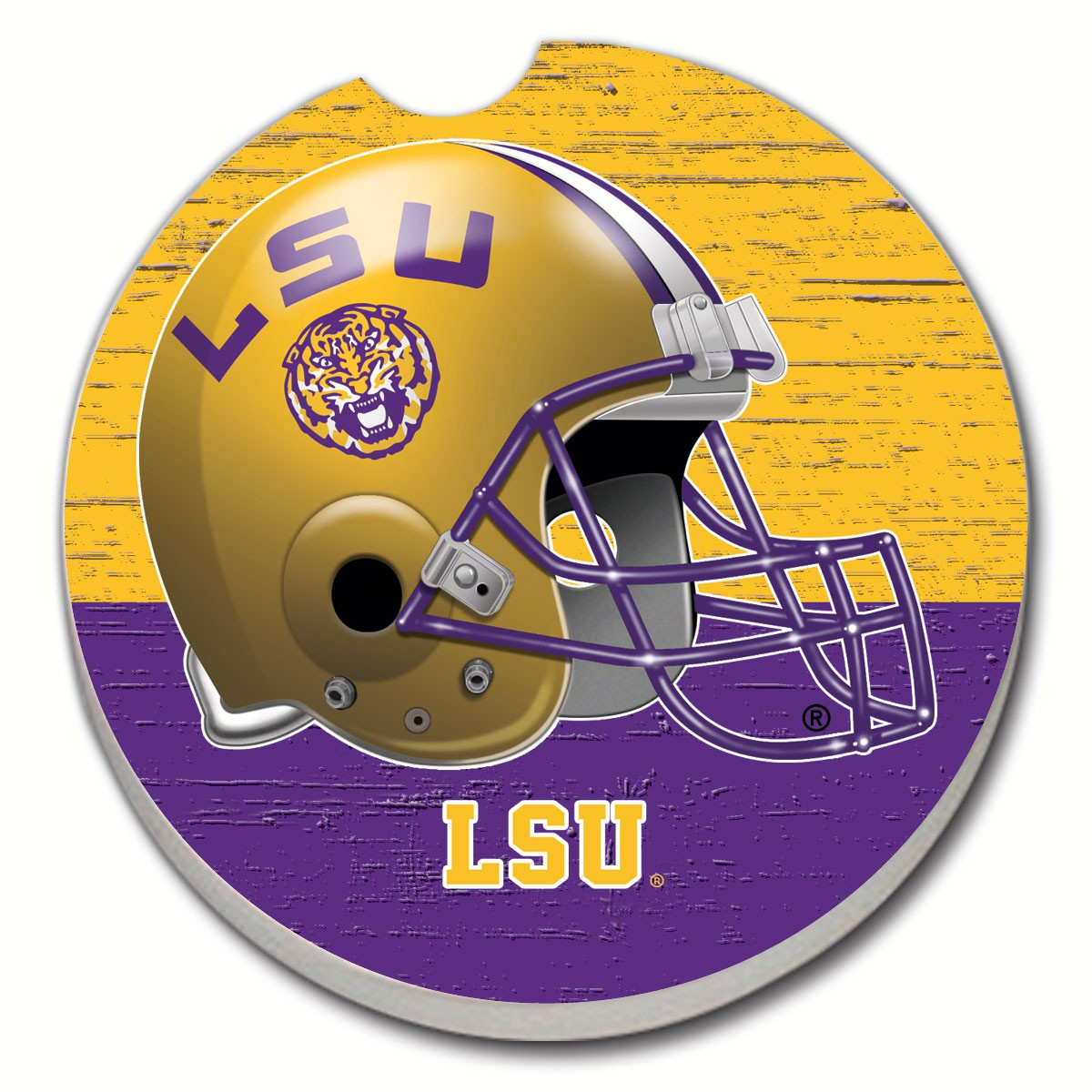 LSU Car Coaster