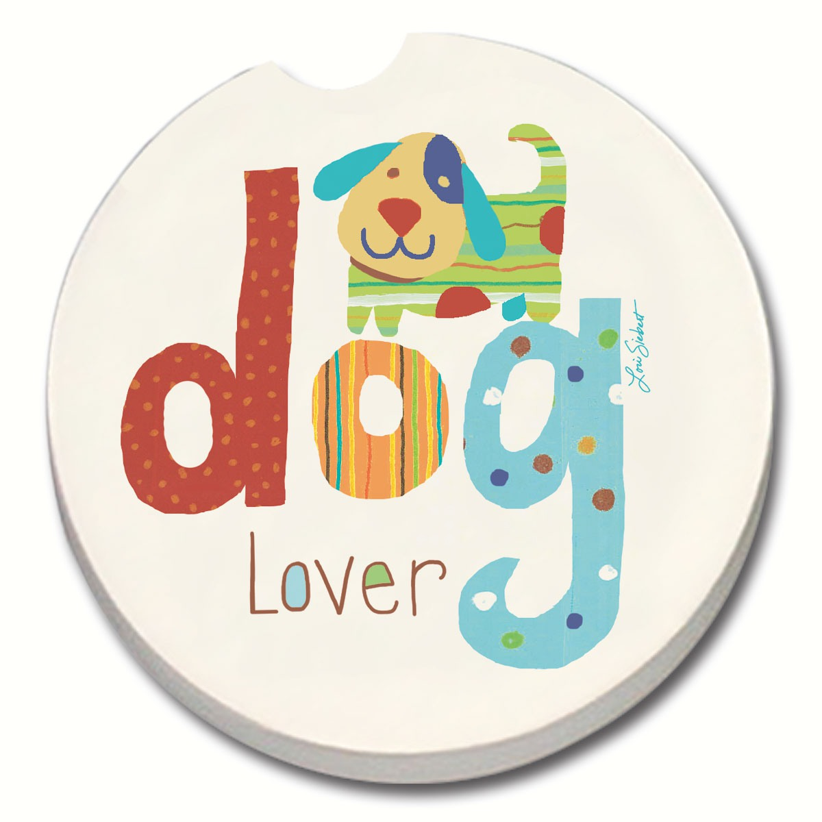 Dog Lover Car Coaster
