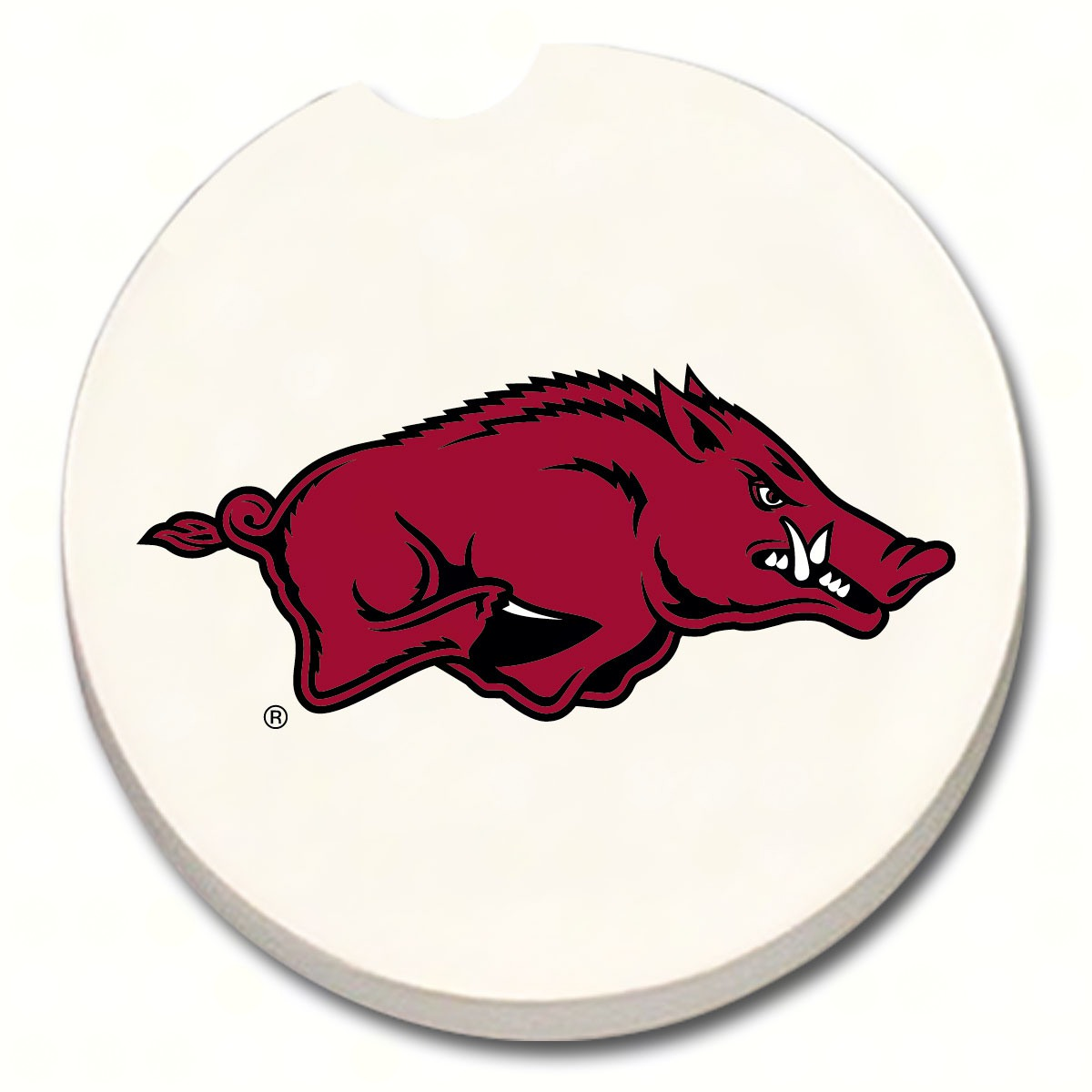 Arkansas Razorbacks Car Coaster