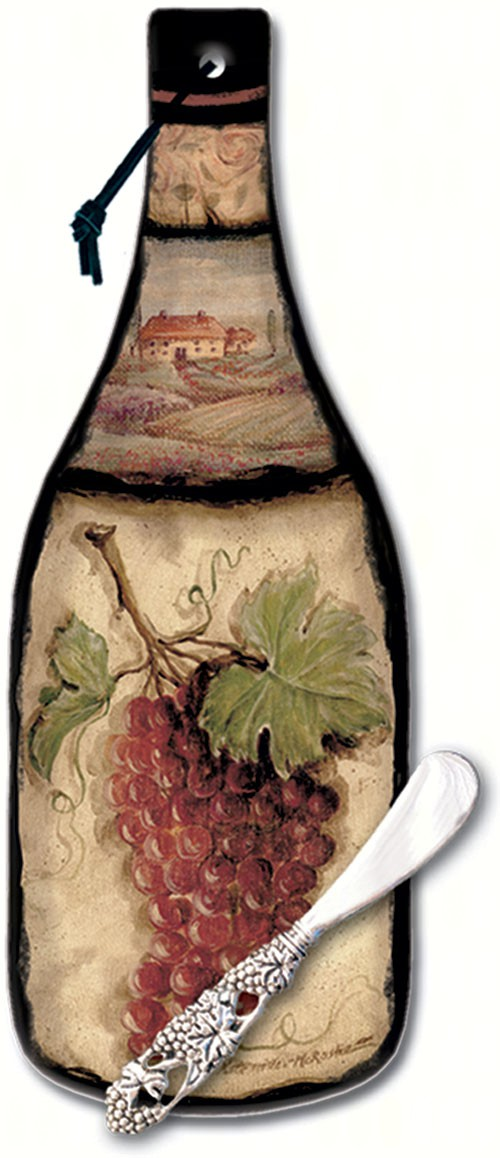 Tuscan Collage Cheese Server