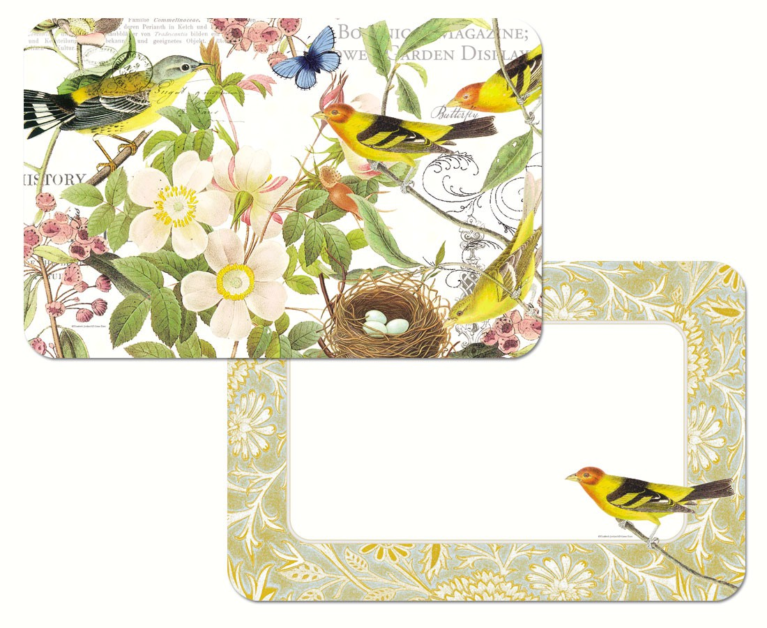 Botanical Birds Reversible Placemat