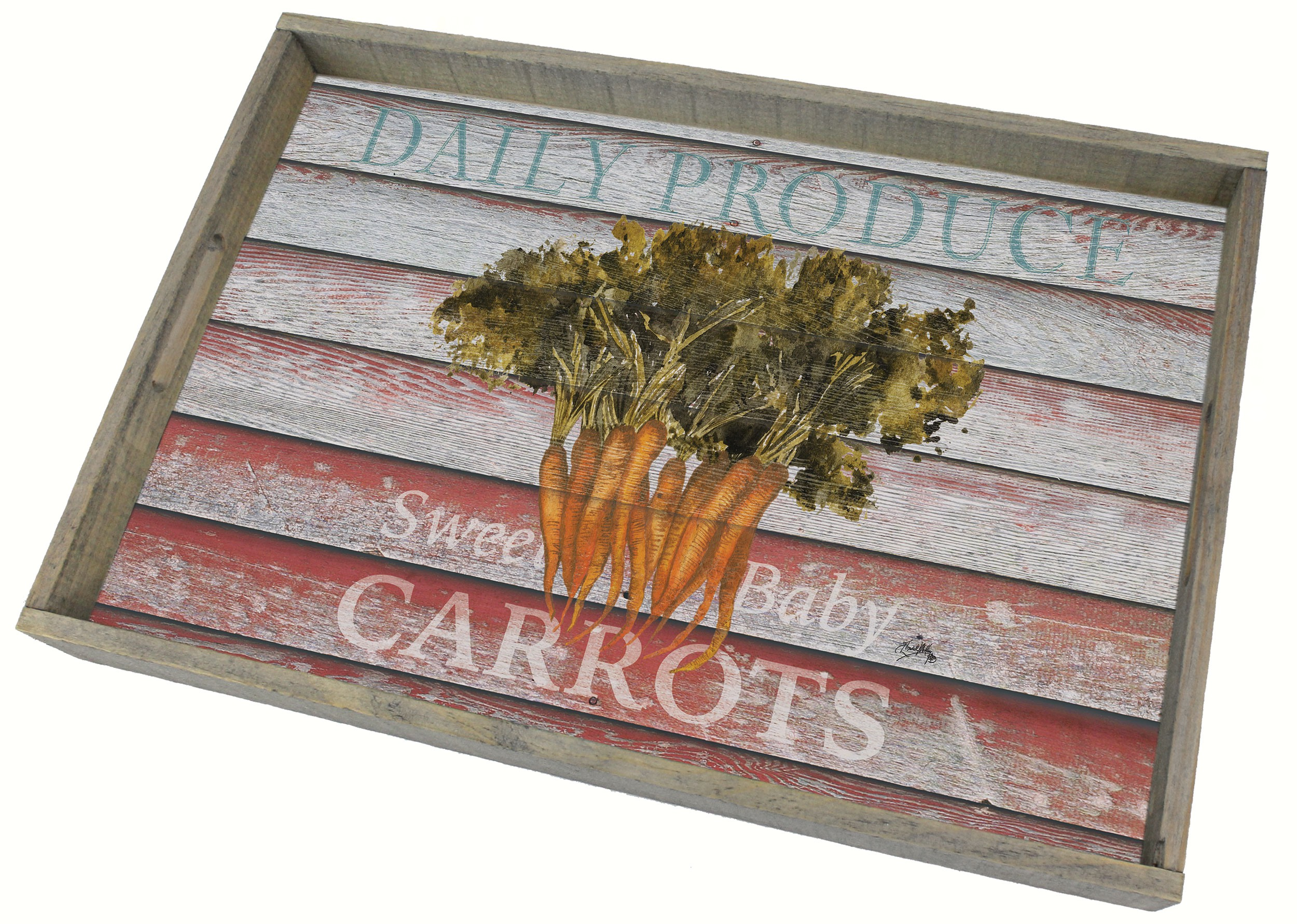 Farm to Table Wooden Tray