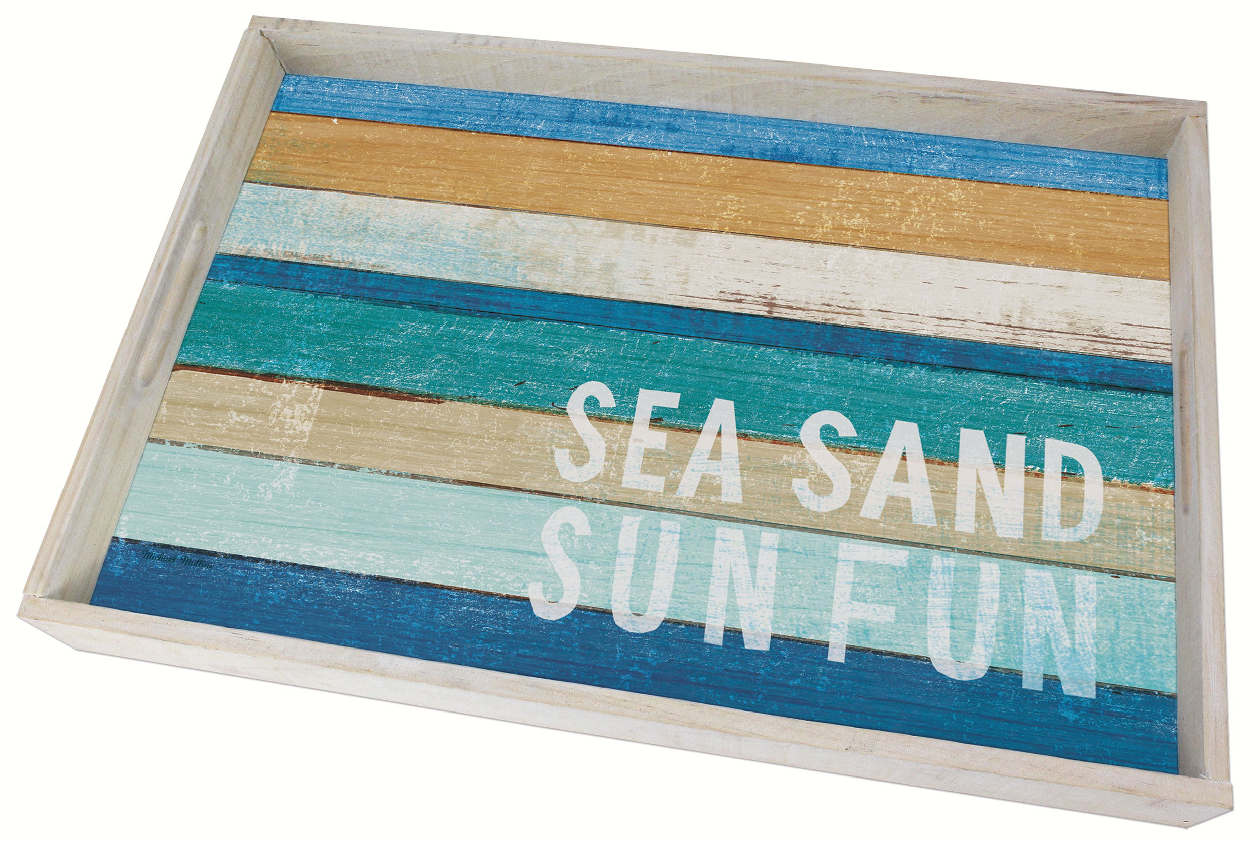 Beachscapes Wood Tray