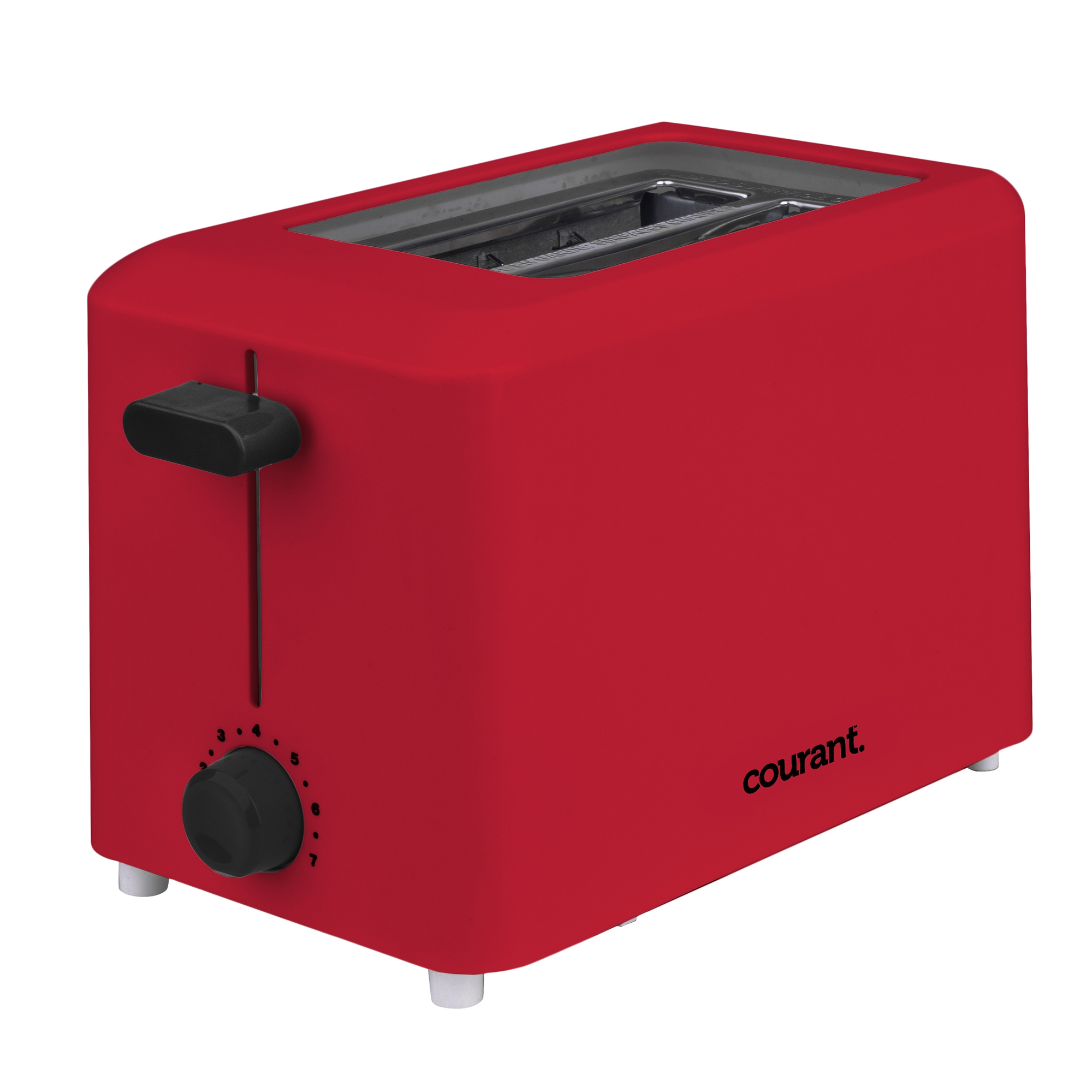 Courant Cool Touch 2-Slice 750-Watts Toaster, Red